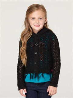 KVJ0Girls 2-6 Quiet Whiper Cardigan by Roxy - FRT1