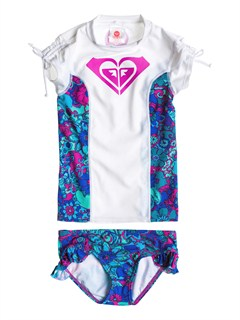 WBB0Girls 2-6 Beach Bound Rashguard by Roxy - FRT1