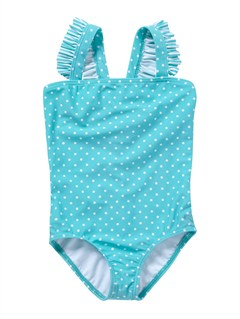 BNF7Girls 2-6 Doll Face Tiki Tri Set Swimsuit by Roxy - FRT1