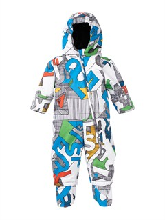 WBB1Little Rookie One Piece Suit by Quiksilver - FRT1