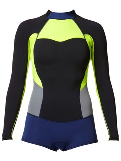 BLKCalm Waters Sleeveless Rashguard by Roxy - FRT1