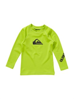 GGY0All Time Infant LS Rashguard by Quiksilver - FRT1