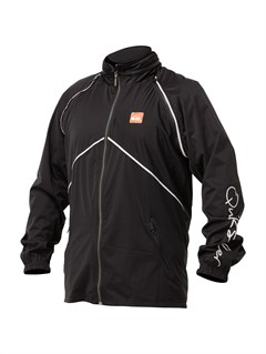 KVD0PU Coated Front Zip Sup Jacket by Quiksilver - FRT1