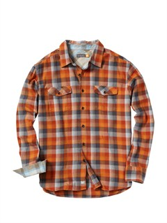 NLF0Men s Hazard Cove Long Sleeve Flannel Shirt by Quiksilver - FRT1