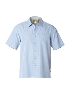 BLL0Men s Aganoa Bay Short Sleeve Shirt by Quiksilver - FRT1