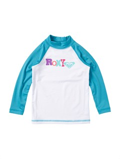 TURGirls 2-6 Livin Large LS Rashguard by Roxy - FRT1