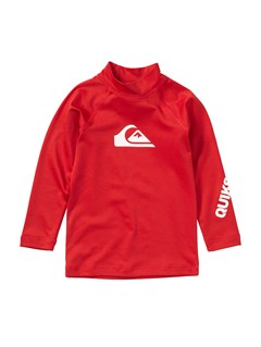 REDBoys 2-7 All Time LS Rashguard by Quiksilver - FRT1