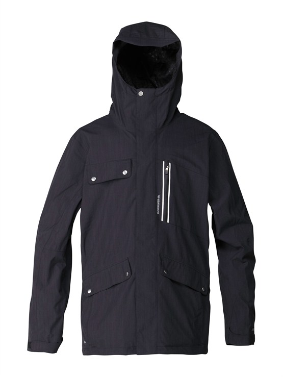 KVJ0Over And Out Gore-Tex Pro Shell Jacket by Quiksilver - FRT1