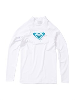 WHTFrom Above LS Girls Rashguard by Roxy - FRT1