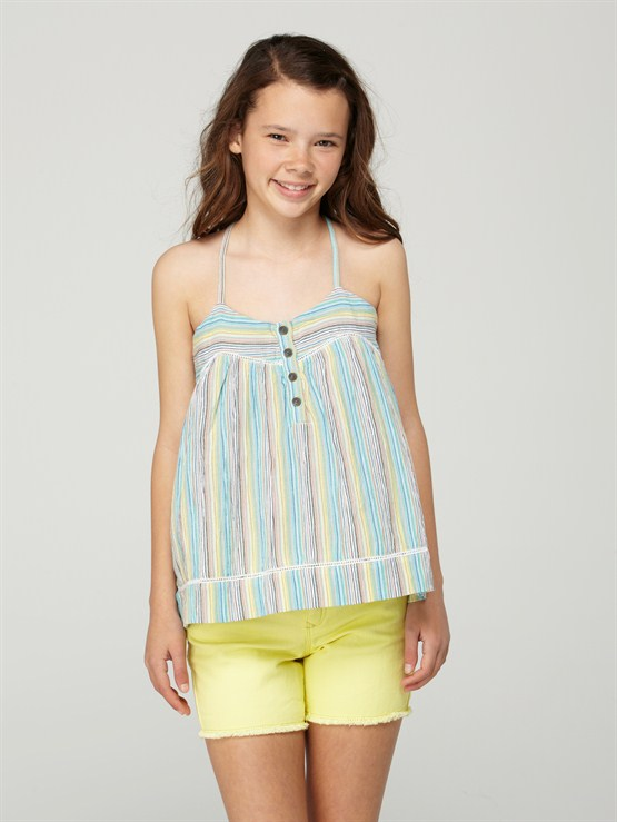 YBLGirls 7- 4 Vacation Spot Romper by Roxy - FRT1