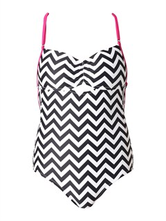 KVJ6Ready Steady Swim Top by Roxy - FRT1