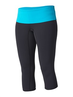 KVJ0Up Wind Neoprene Capri Pants by Roxy - FRT1