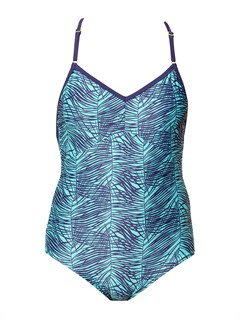 BLK7Ready Steady Swim Top by Roxy - FRT1