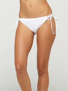 WHTBronzed Melody Itsy Bitsy Bikini Bottoms by Roxy - FRT1