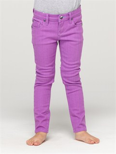 PKY0Girls 2-6 Tawana Rinse Pants by Roxy - FRT1