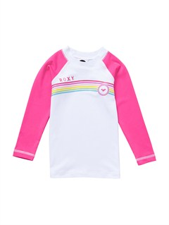 MLR0Girls 2-6 Livin Large LS Rashguard by Roxy - FRT1