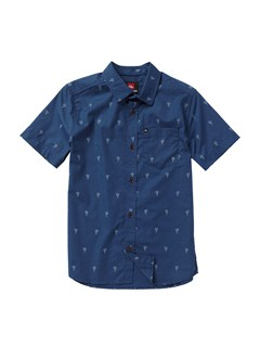BRQ6Boys 8- 6 Mountain And Wave Shirt by Quiksilver - FRT1
