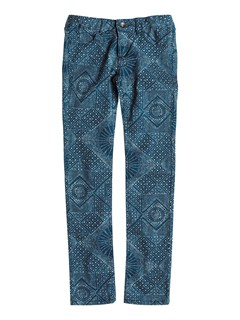 BRQ6Girls 7- 4 Emmy Printed Jeans by Roxy - FRT1