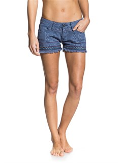 BRQ6Smeaton Denim Print Shorts by Roxy - FRT1