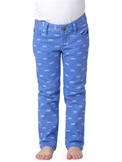 PND6Girls 2-6 Emmy Printed Jeans by Roxy - FRT1