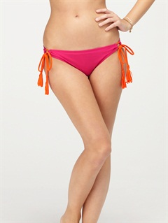 NBRBeach Dreamer Brazilian String Bikini Bottoms by Roxy - FRT1