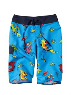 MEDBOYS 8- 6 A LITTLE TUDE BOARDSHORTS by Quiksilver - FRT1