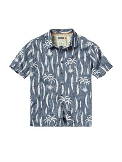 BSL0Men s Aganoa Bay Short Sleeve Shirt by Quiksilver - FRT1