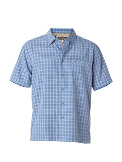 BQP0Men s Deep Water Bay Short Sleeve Shirt by Quiksilver - FRT1