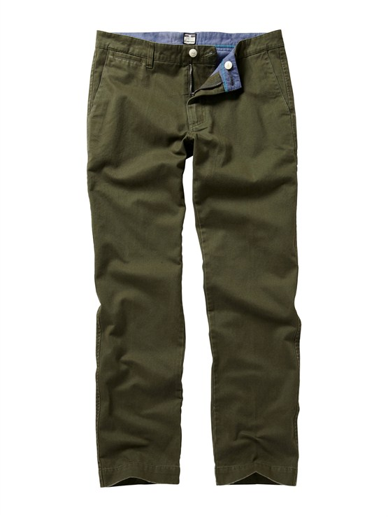 CRE0Class Act Chino Pants  32  Inseam by Quiksilver - FRT1
