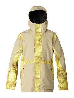 YJN2Travis Rice Polar Pillow  5K Jacket by Quiksilver - FRT1
