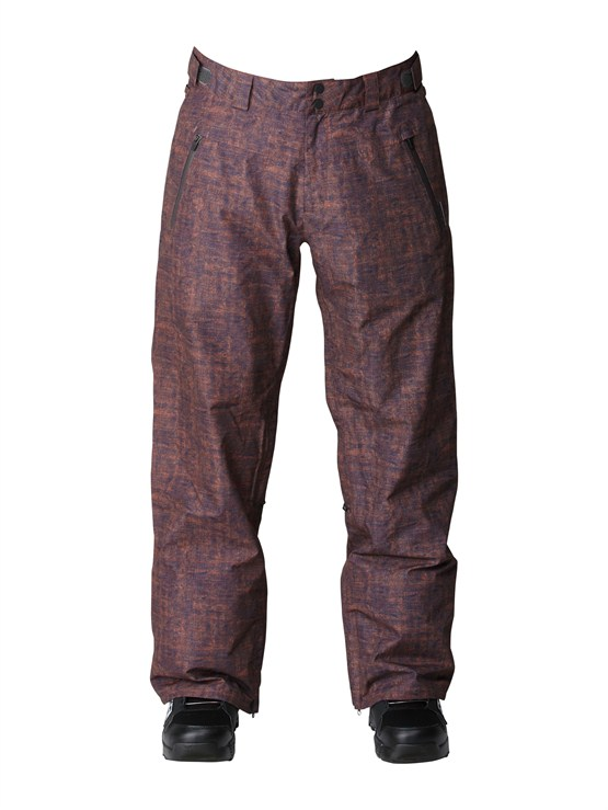 CNH1Dark And Stormy  5K Shell Pants by Quiksilver - FRT1