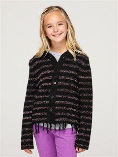 KVJ3Girls 7- 4 Dancing Waves Sweater by Roxy - FRT1