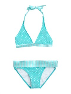 BNF7Girls 7- 4 Peaceful Dreamer Criss Cross Tankini Set Swimsuit by Roxy - FRT1