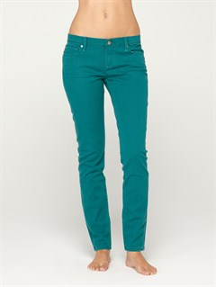 BSR0Suntrippers Crop Camo Jeans by Roxy - FRT1