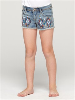 BQMWGirls 2-6 Blaze Embroidered Shorts by Roxy - FRT1