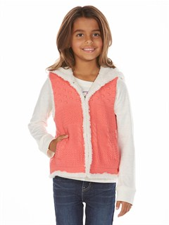 MJJ0Girls 2-6 Quiet Whiper Cardigan by Roxy - FRT1