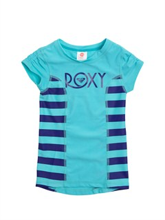 PQS4Girls 2-6 Doll Face Roxy Escape Rashguard by Roxy - FRT1