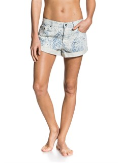 SGT6Smeaton Denim Print Shorts by Roxy - FRT1