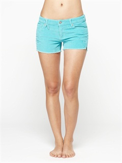 CLRBlaze Embroidered Cut Offs Jean Shorts by Roxy - FRT1