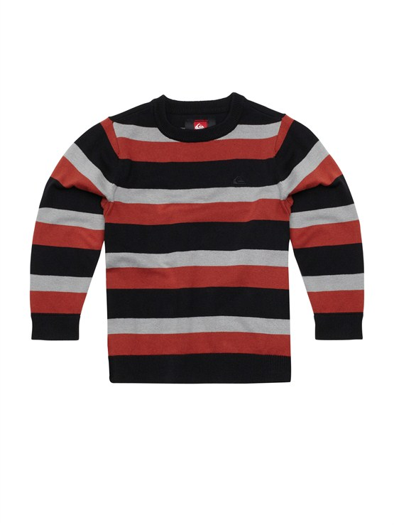 KVJ3Boys 2-7 Holey Foley Sweater by Quiksilver - FRT1