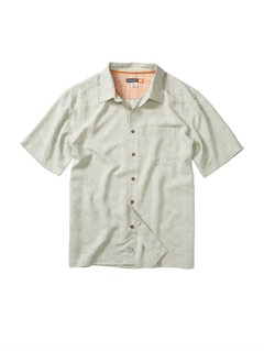 GER0Men s Aganoa Bay Short Sleeve Shirt by Quiksilver - FRT1
