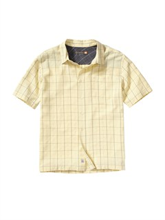 YDJ0Men s Baracoa Coast Short Sleeve Shirt by Quiksilver - FRT1