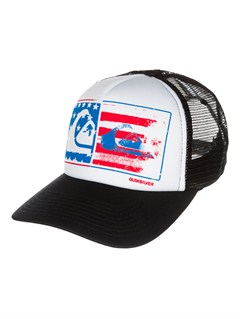 WBB0After Hours Trucker Hat by Quiksilver - FRT1