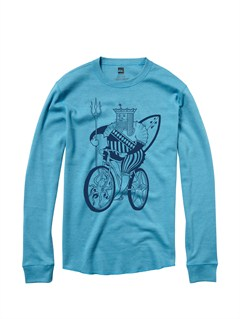 BLK0The Bay Long Sleeve T-Shirt by Quiksilver - FRT1