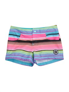 MLW7Girls 7- 4 Roxy Border Surf Sesh Boardshorts by Roxy - FRT1