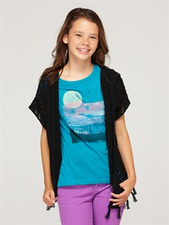 KVJ0Girls 7- 4 Dancing Waves Sweater by Roxy - FRT1