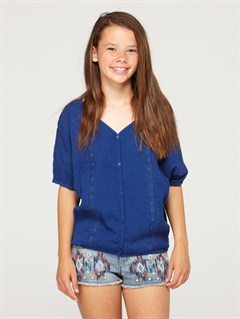 PQM0Girls 7- 4 Believe Printed B Sweater by Roxy - FRT1