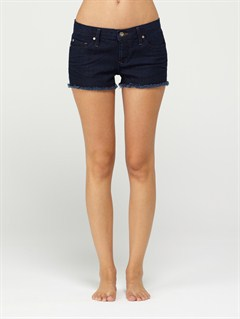 BPPWSmeaton Denim Print Shorts by Roxy - FRT1