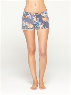 BTN6Smeaton Denim Print Shorts by Roxy - FRT1