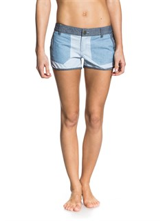 BRQ0Smeaton Denim Print Shorts by Roxy - FRT1